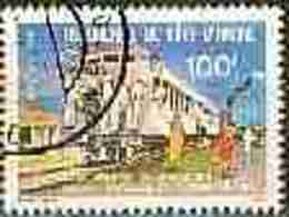 Cote D'Ivoire YV 542 O 1980 Wagon De Voyageurs En 1908 - Ivory Coast (1960-...)