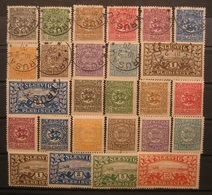 Schleswig Lot 1920 Mi.Nr.1 -14 Gestempelt & Ungebraucht    (I7) - Non Classificati