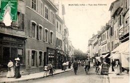 25. Montbéliard. Rue Des Febvres. Abimée Au Niveau Du Timbre - Montbéliard
