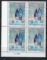 "Dahomey Coins Datés Aerien YT 62 (PA) "" K. Adenauer "" Neuf** Du 3.7.1967 - Benin - Dahomey (1960-...)"