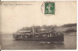 """9599. CPA CARRY 13 ARRIVEE DU """"CANNOIS"""" - Carry-le-Rouet"""
