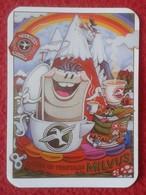 ANTIGUO CALENDARIO OLD CALENDAR DE BOLSILLO MANO 2008 PUBLICIDAD ADVERTISING PRODUCTOS VEGETALES MILVUS LEÓN SPAIN VER F - Tamaño Pequeño : 2001-...