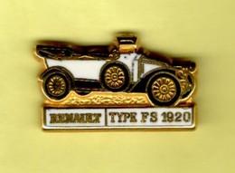 Les Pin's Par Renault  -  Renault Type FS  -  1920 - Renault