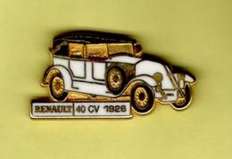Les Pin's Par Renault  -  Renault 40 CV  -  1926 - Renault