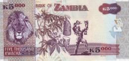 ZAMBIA P. 45g 5000 K 2011 UNC - Zambia