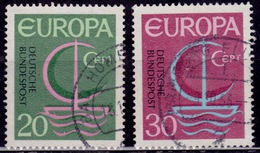 Germany, 1966, CEPT, Europa Issue, Sc#963,964, Used - [7] Federal Republic