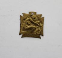 Vignette Médaille Journée Des Orphelins Des Armées Signée P.Lalique - Insignes & Rubans