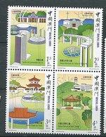 Macao ** N° 1073 à 1076 - Parcs Et Jardins - 1999-... Chinese Admnistrative Region