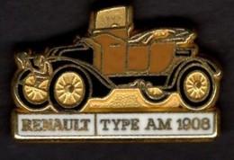 Les Pin's Par Renault  -  Renault Type AM    -  1908 - Renault