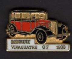 Les Pin's Par Renault  -  Renault Vivaquatre G7    -  1933 - Renault