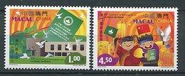 Macao ** N° 1148/1149 - 10e Ann De La Promulgation De La Loi Fondamentale - 1999-... Chinese Admnistrative Region