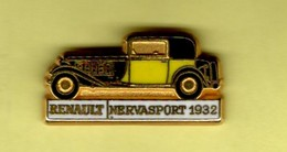 Les Pin's Par Renault  -  Renault Nervasport    -  1932 - Renault