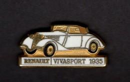 Les Pin's Par Renault  -  Renault Vivasport    -  1935 - Renault