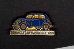 Les Pin's Par Renault  -  Renault Juvaquatre    -  1939 - Renault