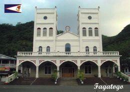1 AK Amerikanisch Samoa * Kirche In Dem Ort Fagatogo Auf Der Insel Tutuila - Hauptinsel Von Amerikanisch-Samoa - Samoa Américaine