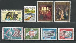 CAMEROUN  Scott C198, 568, C208-9, C220, 594,C218-9 Yvert PA214,548,Pa222-3,PA235,574,PA233-4 (8) ** Cote 9,80  $ 1974-5 - Cameroun (1960-...)