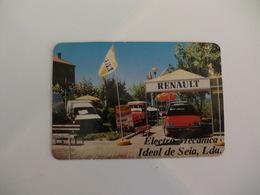 Renault Electro Mecânica Ideal De Seia Portugal Portuguese Pocket Calendar 1989 - Calendriers