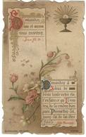 Image Pieuse - Demandez Et Vous Recevrez Jean - Abbé Perreyve - Souvenir Communion 1902 à Rosendael - Images Religieuses