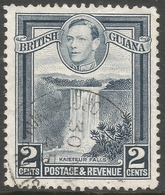 British Guiana. 1938-52 KGVI. 2c Used. P12½ SG 309 - British Guiana (...-1966)