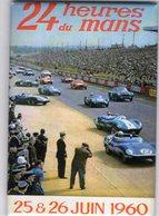 24 Heures Du Mans 1960  -  Jaguar - Aston Martin - Ferrari  -  Fridge Magnet 80x55mms - Sport