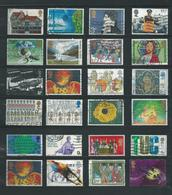 RB - 24 X England - Afgestempeld - Pracht Lot - Nr. 101 - Vrac (max 999 Timbres)