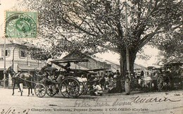 COLOMBO - Charettes, Voitures, Pousse Pousse - Sri Lanka (Ceylon)
