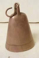 PL. 419.. Grand Grelot De Cheval En Cuivre - Cloches