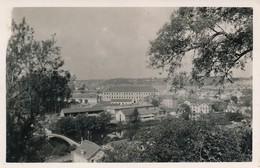 CPA 86 Carte-photo Le Quartier Montierneuf - Poitiers