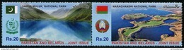 Pakistan (2016) - Set -  /  National Parks - Nature - Joint Issue With Belarus - Gezamelijke Uitgaven