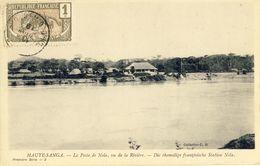 HAUTES-SANGA -- LE  POSTE  DE  NOLA,  VU  DE  LA  RIVIERE - Congo Français - Autres