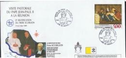 Brief Zum Papstbesuch 2. Mai 1989 Mit Sonderstempel Michel 2694 Siehe Scan - Ganzsachen