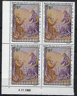 "Dahomey Coins Datés Aerien YT 94 (PA) "" Peintures Religieuses "" Neuf** Du 4.11.1968 - Benin - Dahomey (1960-...)"