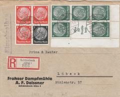 Allemagne Lettre Recommandée Schönebeck 1937 - Germany