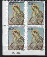 "Dahomey Coins Datés Aerien YT 95 (PA) "" Peintures Religieuses "" Neuf** Du 31.10.1968 - Benin - Dahomey (1960-...)"