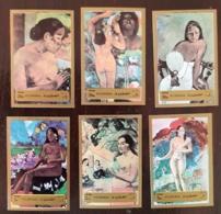 FUJEIRA TABLEAUX/PAINTING, IMPRESSIONNISTES - Michel N° 1272/7 Non Dentelé (imperf) ** MNH.  Gauguin, - Impressionisme