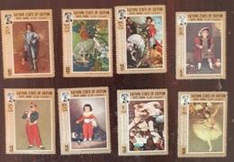 KATHIRI STATE OF SEIYUN TABLEAUX/PAINTING, IMPRESSIONNISTES - Michel N° 108/15 ** MNH. Manet, Gauguin, Degas... - Impressionisme