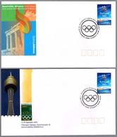 DIA DE APERTURA Y CIERRE JUEGOS OLIMPICOS SYDNEY 2000 - Opening Day And Closing Day. - Verano 2000: Sydney