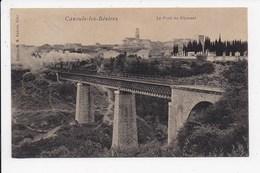 CPA 34 CAZOULS LES BEZIERS Le Pont Du Rhounel - France