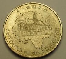 1997 - France - 1 EURO De Tours Et De Touraine, Richelieu - France