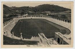C.P.  PICCOLA    ROMA   FORO   MUSSOLINI    LO  STADIO         (VIAGGIATA) - Estadios E Instalaciones Deportivas