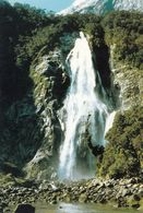 1 AK Neuseeland * Bowen Falls Im Milford Sound Auf Der Südinsel - Seit 1990 Weltnaturerbe Der UNESCO - Neuseeland