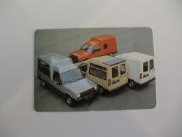 Renault Auto Horizonte Cascais Portugal Portuguese Pocket Calendar 1988 - Calendriers