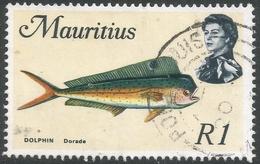 Mauritius. 1969 Sealife. 1r Used. SG 396 - Mauritius (1968-...)