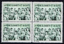 Hofdamen Der Kaiserin Königin Elisabeth Von Österreich-Ungarn - Vierenblock - Royalties, Royals