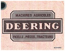 """Ma D/Buvard Machines Agricoles """"Deering"""" (Frt 15 X 11.5) (N=1) - Agriculture"""