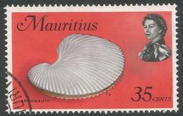 Mauritius. 1969 Sealife. 35c Used. SG 483 - Mauritius (1968-...)