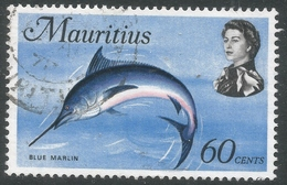 Mauritius. 1969 Sealife. 60c Used. SG 449b - Mauritius (1968-...)