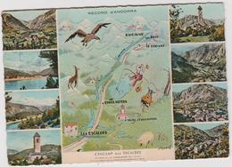 Andorre-Andorra : Vue   D ' Encamp  Aux  Escaldes - Andorre