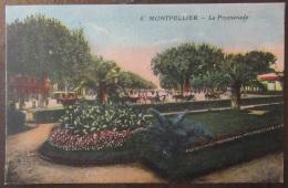 Montpellier - La Promenade - Carte Postale Couleur Non-circulée - Montpellier