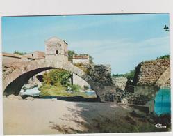 Hérault :  ST  THIBERY : Le  Pont  Romain  Avec Le  Vieux  Moulin - Autres Communes